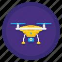 camera, drone, picture, video