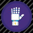 finger, gesture, hand, robbot icon