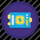 electronics, mainboard, network, technology icon