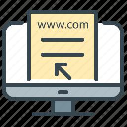 computer, desktop, monitor, preview, robotics, screen icon
