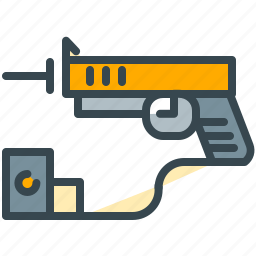 army, game, gun, handgun, pistol, robotics, weapon icon