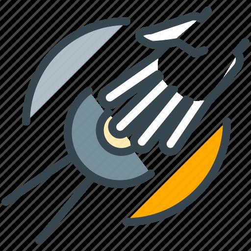 agreement, connect, deal, handshake, partnership, robotics icon