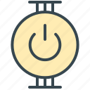 electric, electrical, electricity, off, on, power, technology icon