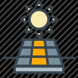 electric, electricity, energy, power, robotics, solar icon