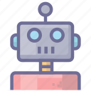 artificial intelligence, automation, machine, robot, technology icon