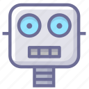 artificial intelligence, automation, machine, robot icon