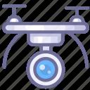 delivery, drone, uav icon