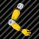 apparatus, hand, manipulator, mechanism, robot, robotics, tool icon