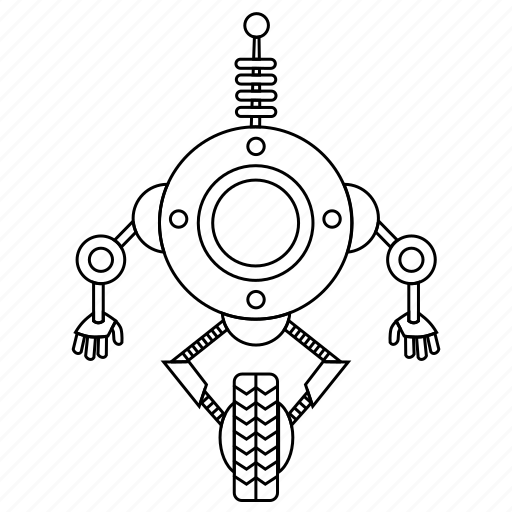 baby, childhood, device, electronic, electronics, game, gaming, hobby, machine, outline, play, robot, technology, toy icon