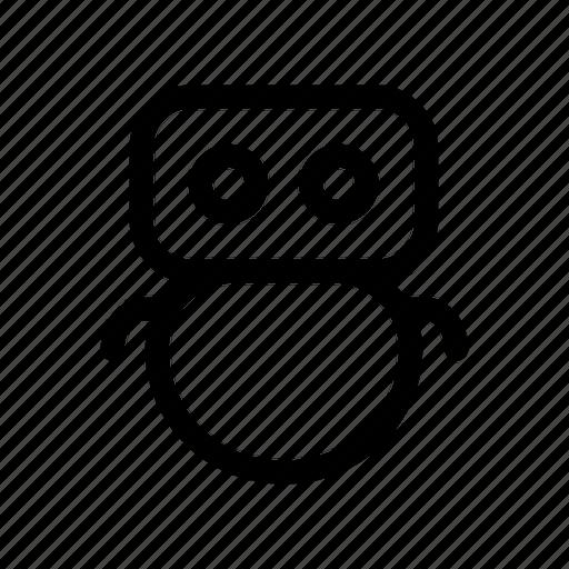 bot, chat, robo, robot, talk, virtual icon