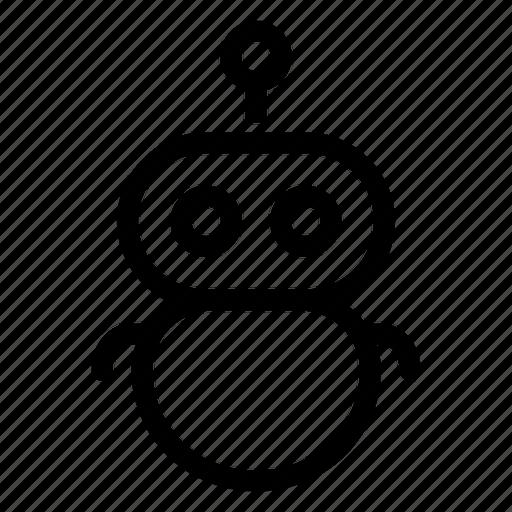bot, character, gravatar, robo, robot icon