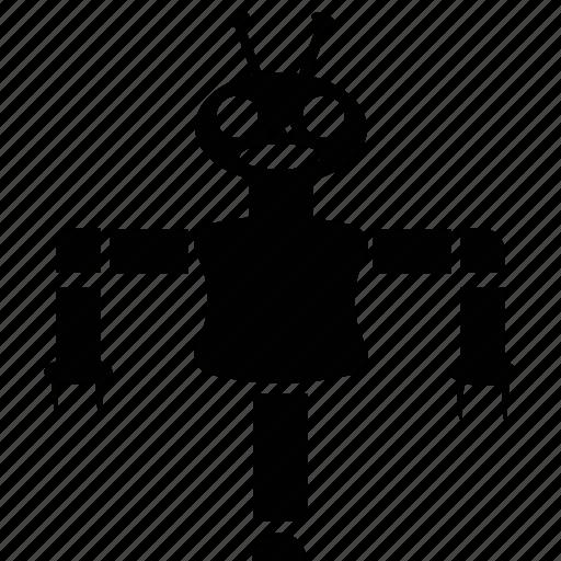 character robot, cyborg, electronic robot, robotics, technology icon