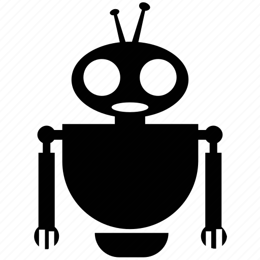 character robot, cyborg, electronic robot, robotics, technology icon
