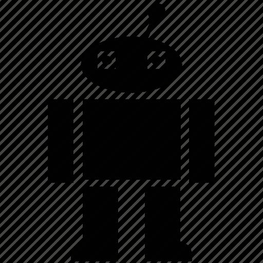 advanced technology, bionic robot, character robot, cyborg, robotics, technology icon