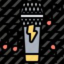 concert, karaoke, microphone, music, sing icon