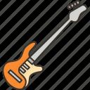 bass, guitar, music, instrument, rock