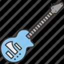guitar, music, instrument, band, rock