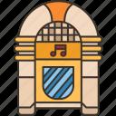 jukebox, songs, playlist, music, entertainment