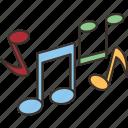music, notes, melody, song, rhythm