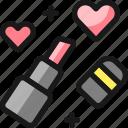 dating, lipstick