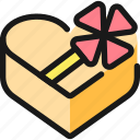 love, gift, box, heart