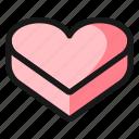 love, gift, chocolate, box