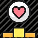 love, heart, ranking