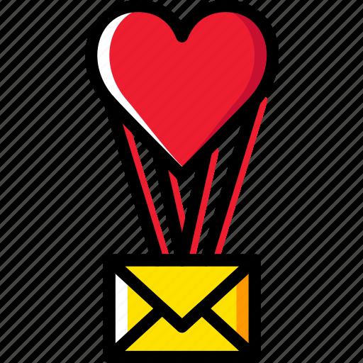 letter, lifestyle, love, romance icon