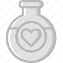 lifestyle, love, potion, romance icon