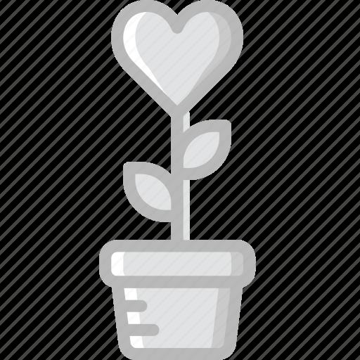 lifestyle, love, plant, romance icon