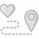 find, lifestyle, love, romance icon