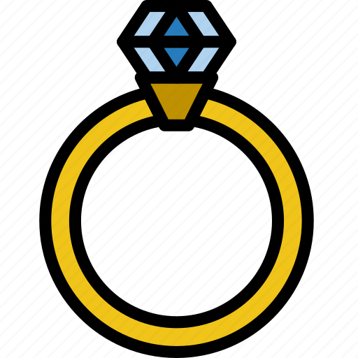 engagement, lifestyle, love, ring, romance icon