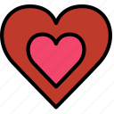 heart, lifestyle, love, romance icon