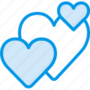 hearts, lifestyle, love, romance icon