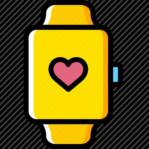lifestyle, love, romance, watch icon