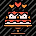 bakery, cake, dessert, love, sweet