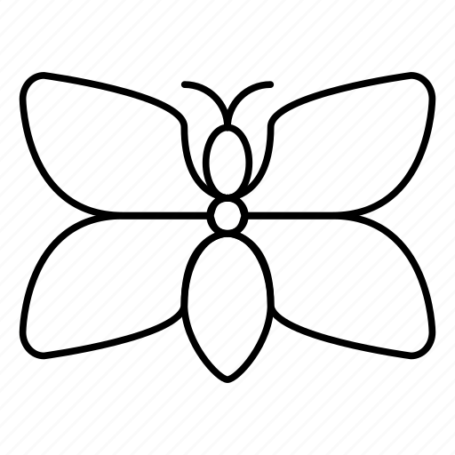 adinkra, butterfly, fafanto, roselution, tenderness icon