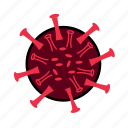 bacteria, corona, coronavirus, malware, protection, secure, virus icon