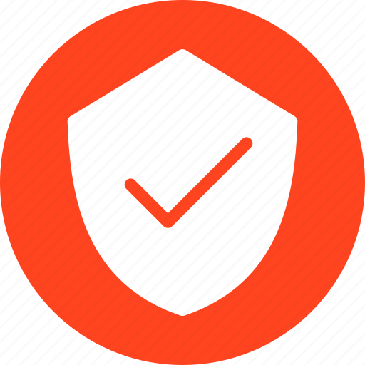 Firewall, hack proof, protection, red, safe, secure icon - Download on Iconfinder