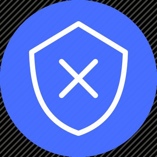 Blue, firewall, hack proof, protection, safe, secure icon - Download on Iconfinder