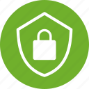 encryption, firewall, green, lock, safe, secure, security icon
