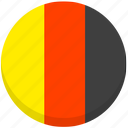 county, flag, germany, national icon