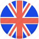 county, flag, national, uk, united kingdom icon