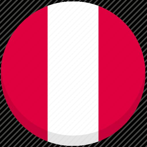 austria, county, flag, national icon