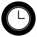 clock, realtime, round icon