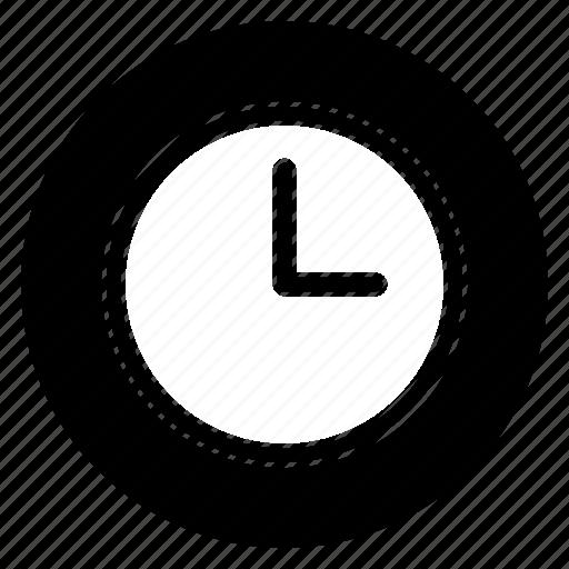 clock, realtime, round icon