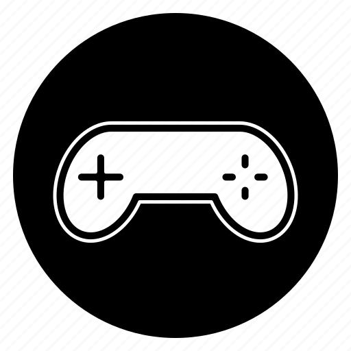 controller, game, gamer, round, tool icon