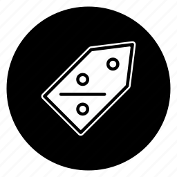 discount, round icon
