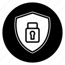 encryption, round, safe, secure icon