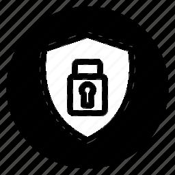 encryption, round, safe, secure icon